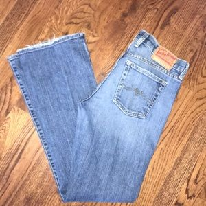 Lucky bootcut medium wash jean in size 8/29